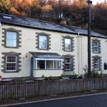 The Snake Pass Inn, right on the A57. Highly recommended.