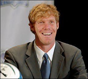 Lalas as he is now: middle-aged respectability. And finally with that college degree.