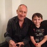 Pete Townshend with Noel Fletcher, London Wembley Arena, July 2013